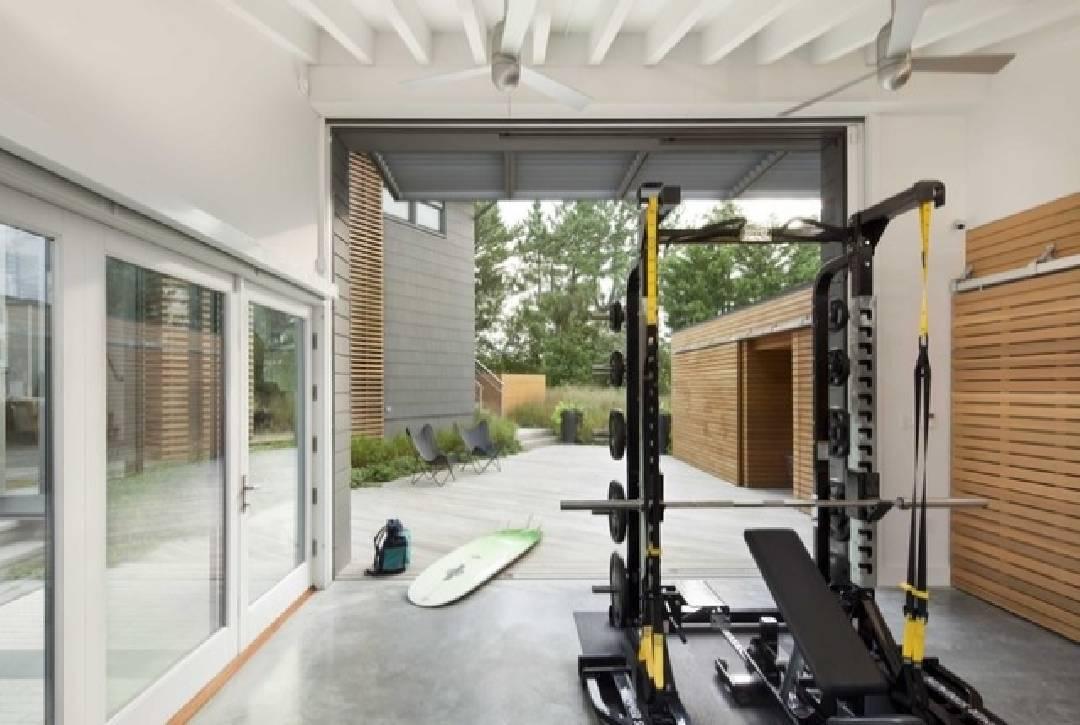salle de sport garage