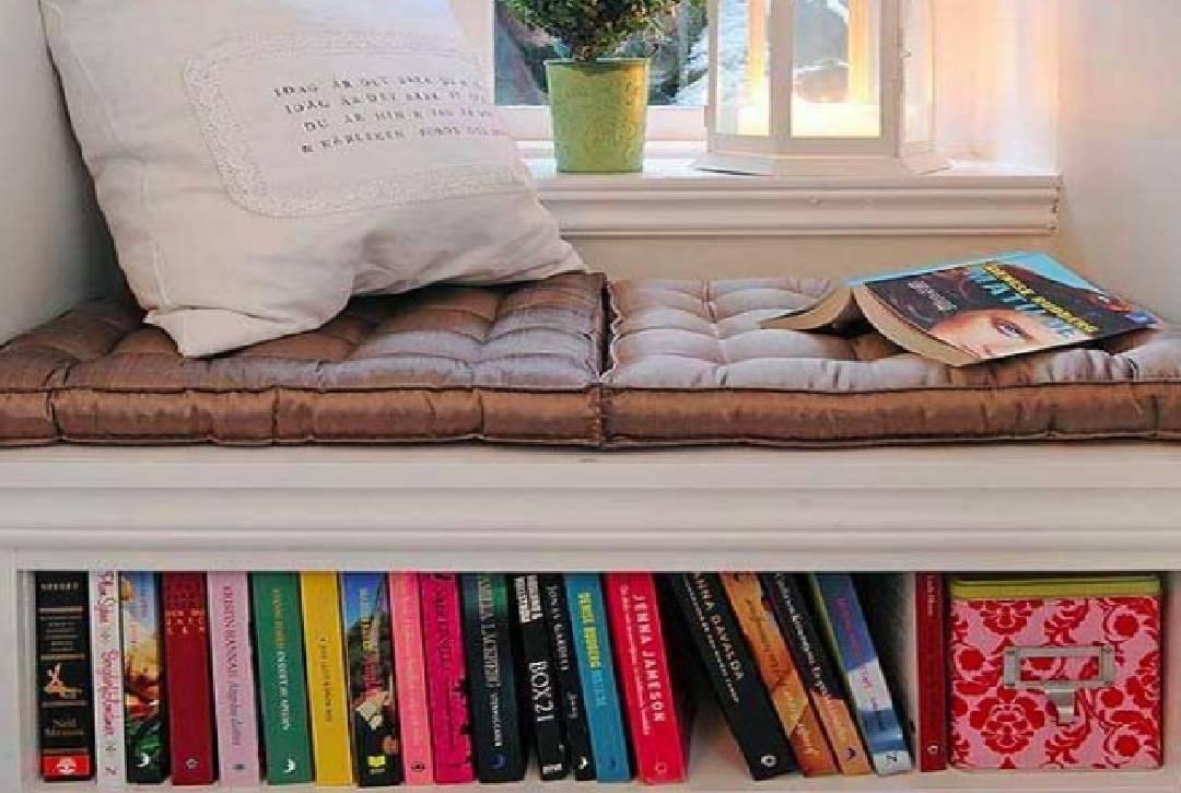 Coin de lecture intelligent pour le stockage des livres